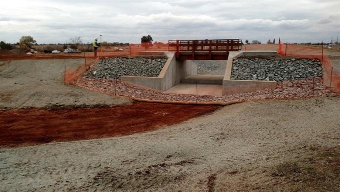 Renovated Dam