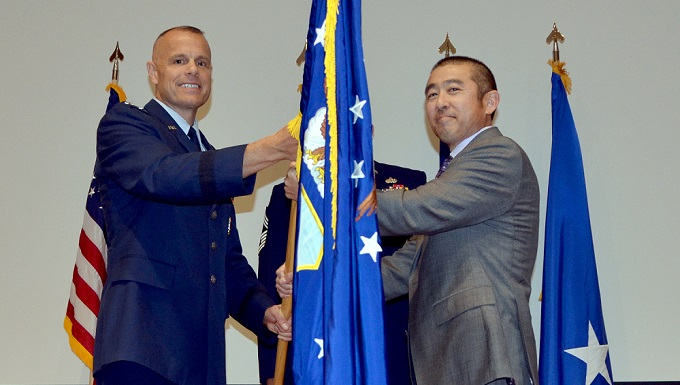 Oshiba assumes leadership of AFCEC