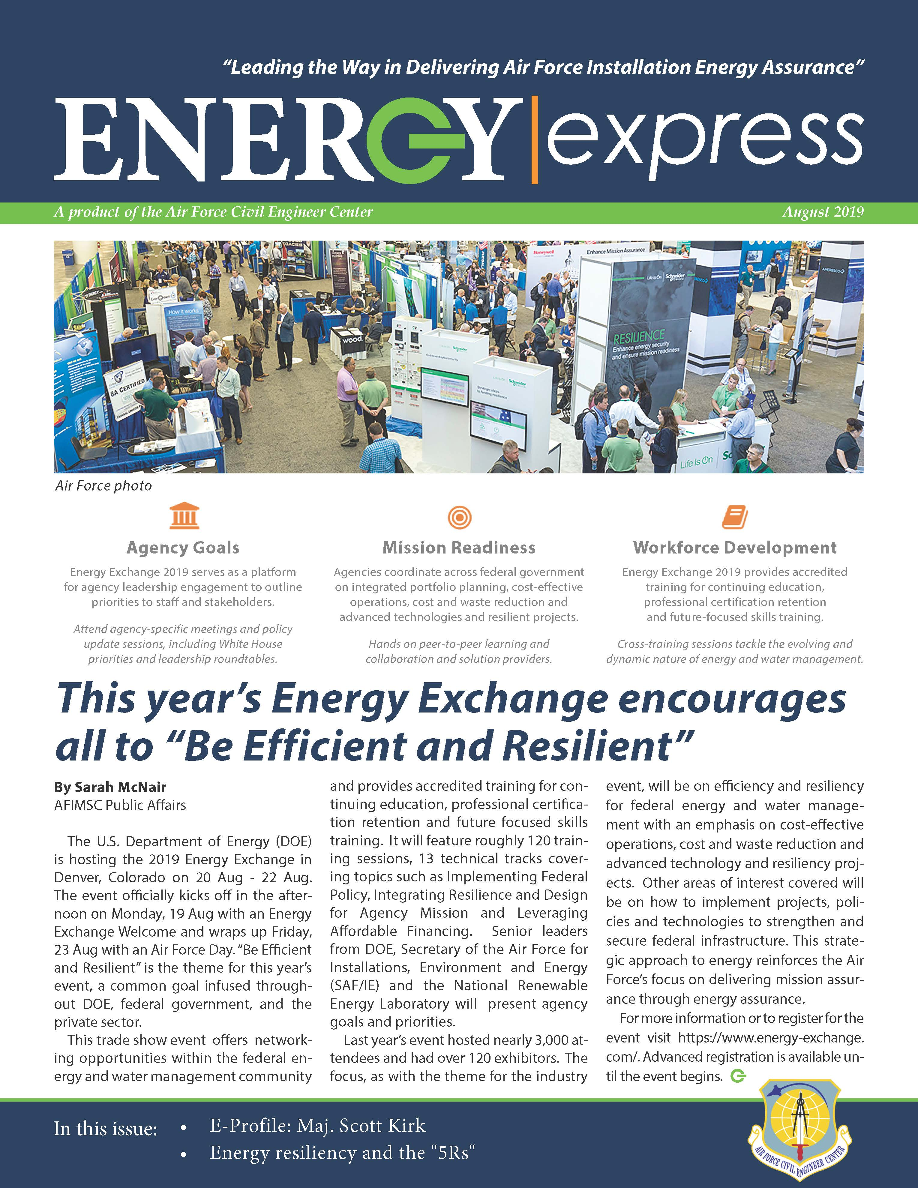 August 2019 Energy Express Cover