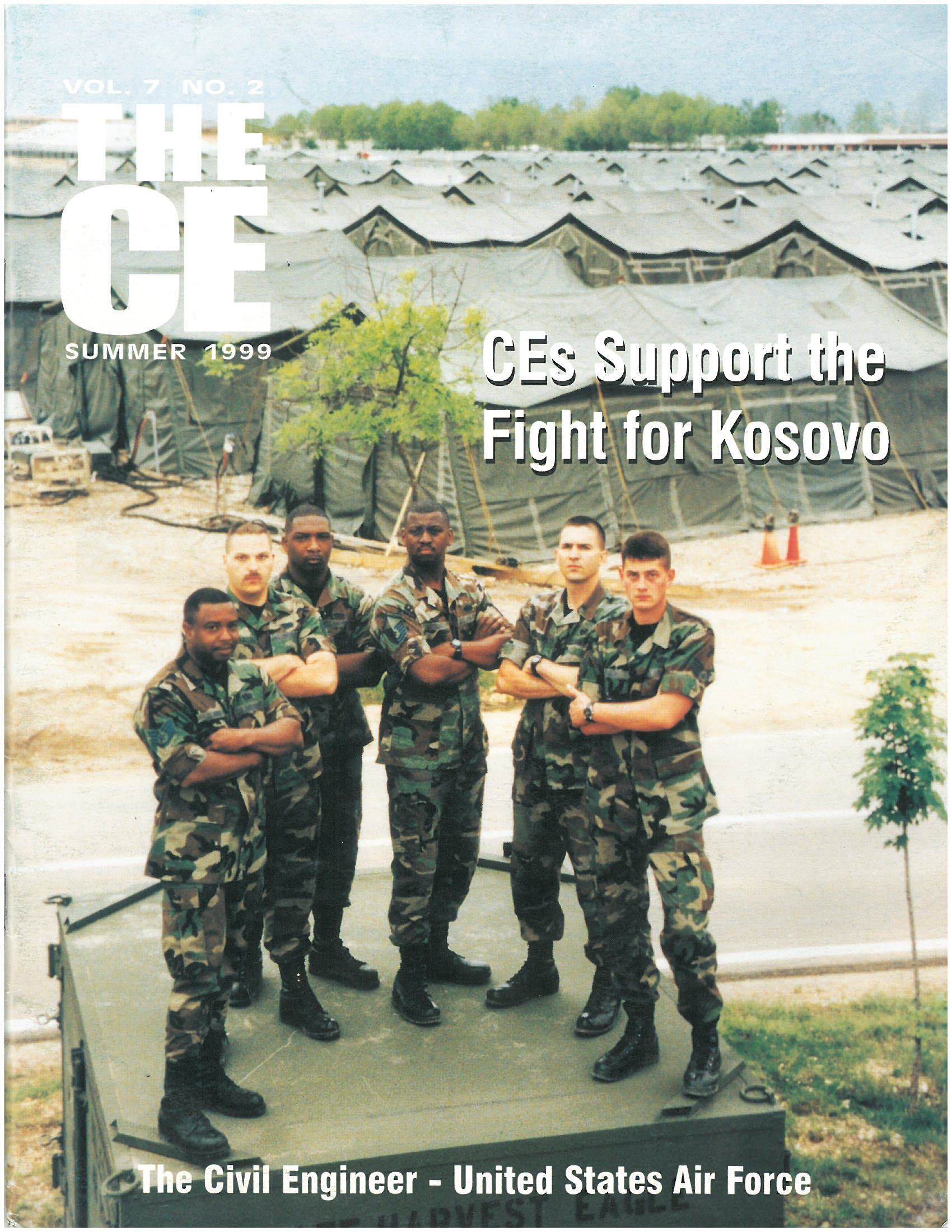 Summer 1999, CEs Support the Fight for Kosovo