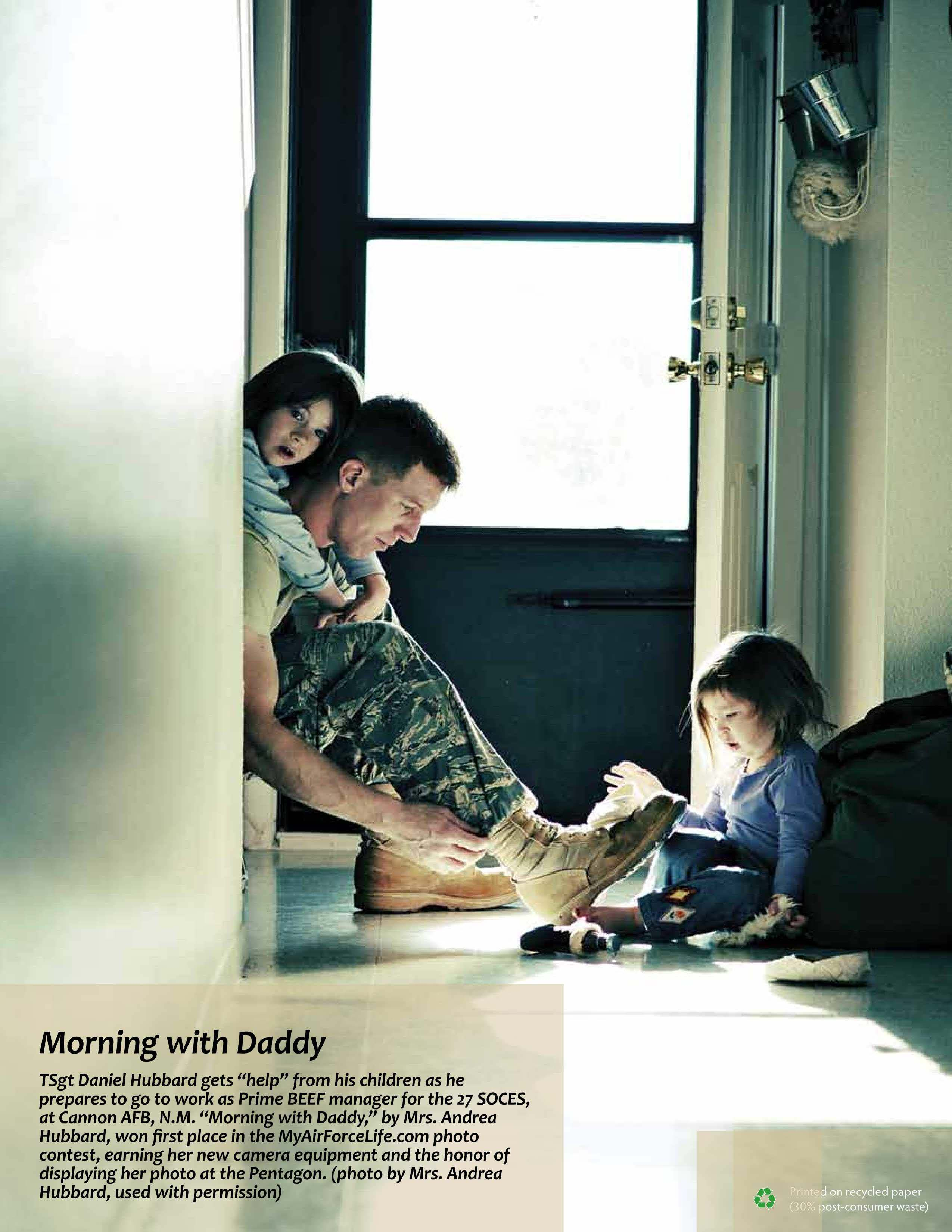 Summer 2010, Morning with Daddy (back cover)