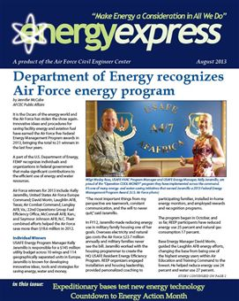 August 2013 Energy Express
