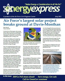 July 2013 Energy Express