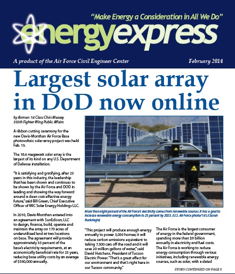 January 2014 Energy Express