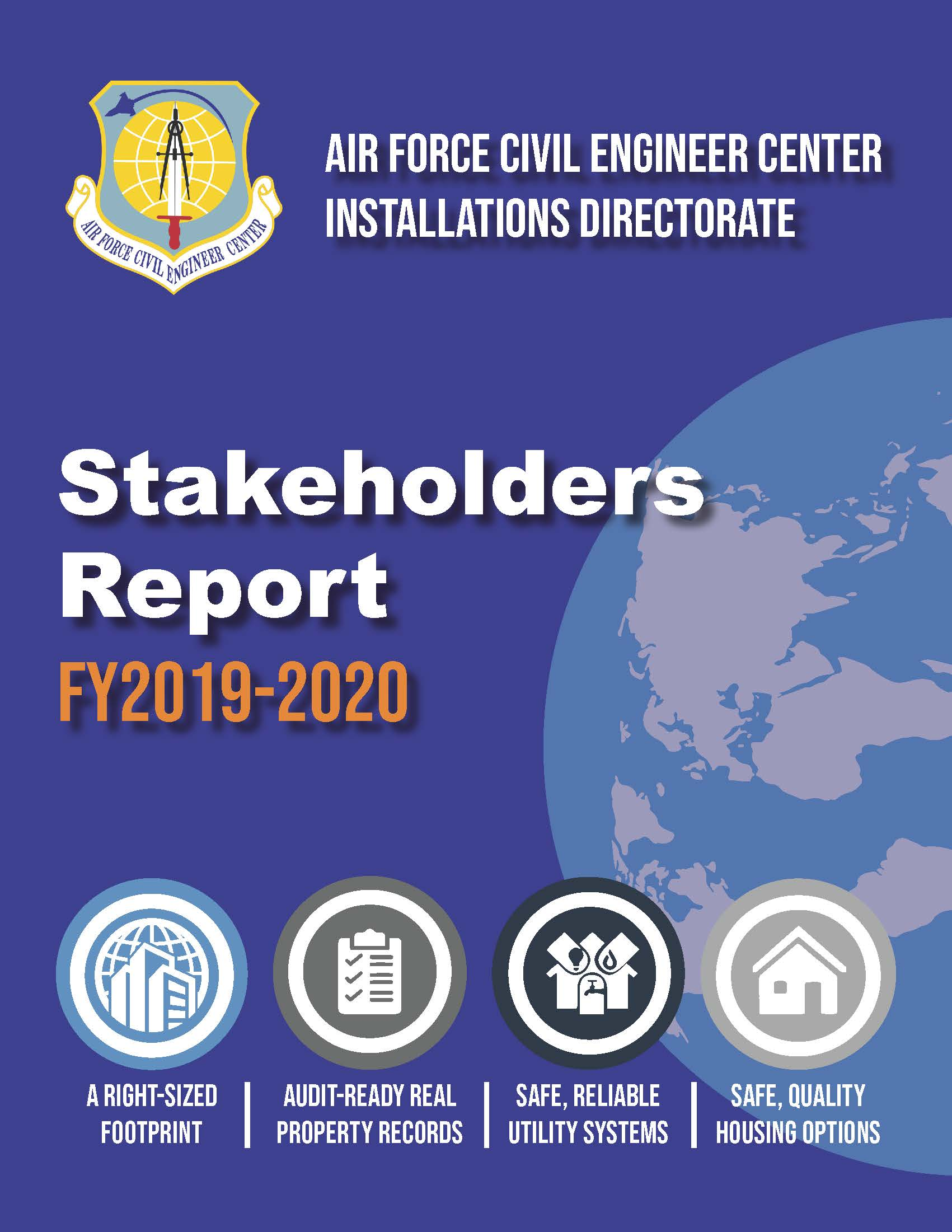 Cover of 2019-2020 Installation Stakeholder Report